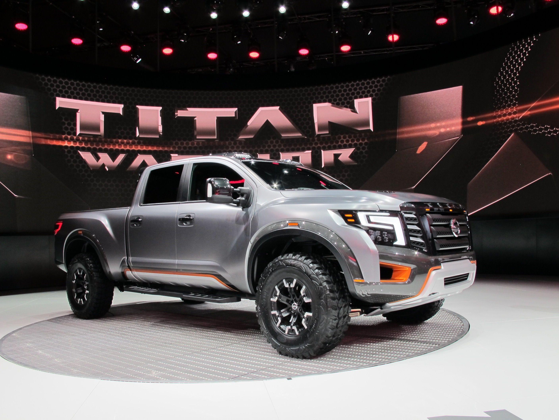 2016 nai auto show nissan titan warrior concept nissan