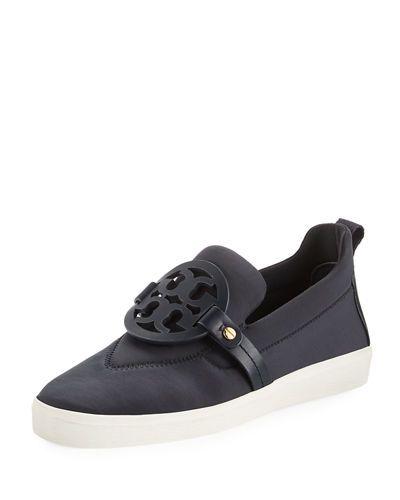 db2136d291227c TORY BURCH Miller Neoprene Medallion Slip-On Sneaker