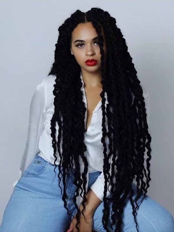 5 Popular Black Long Hairstyles That You Don't Want to Miss! #blackhairstyles