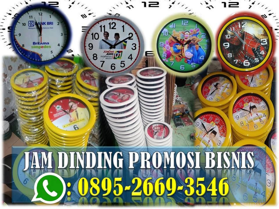 Distributor Jam Dinding, WA 088226110625 in 2020 Jam