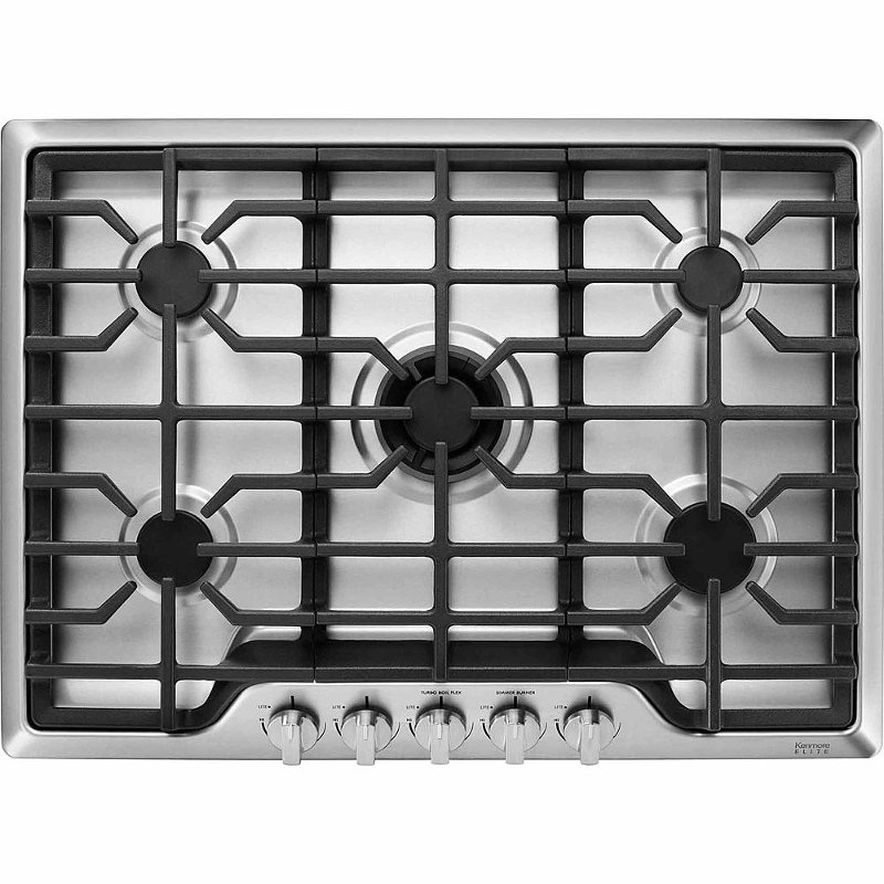 Kitchenaid 30 Inch Gas Cooktop Stainless Steel Gas Cooktop Cooktop