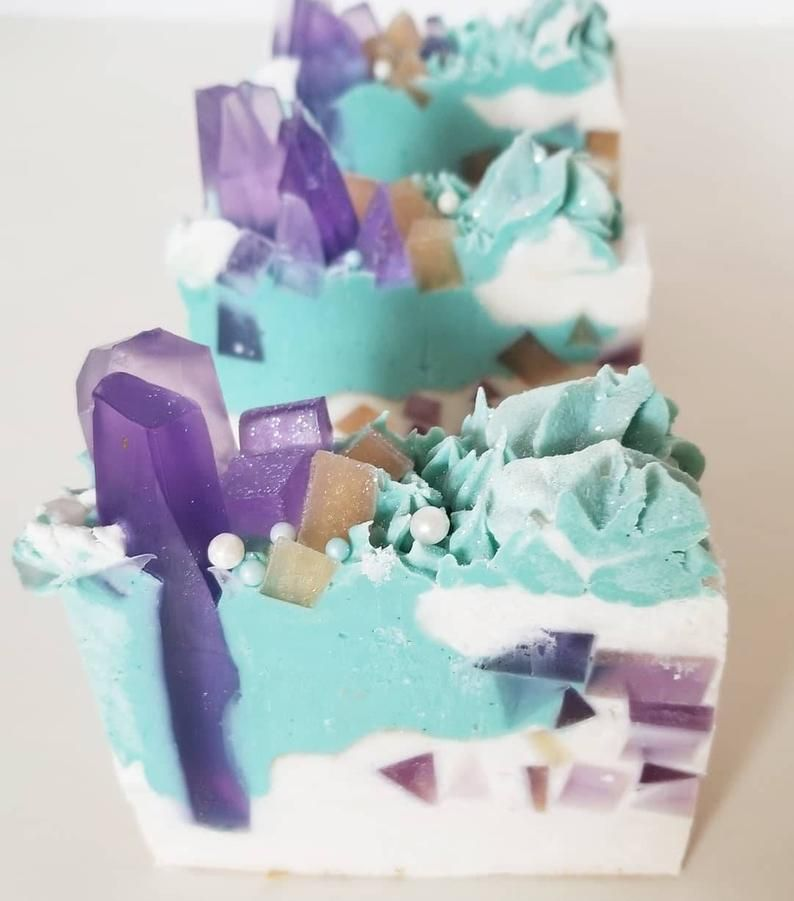 Moonlight jasmine lavender crystal soap in 2020