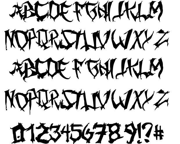 Gothic Fonts Ming Gothic Font By Juan Casco Fontriver