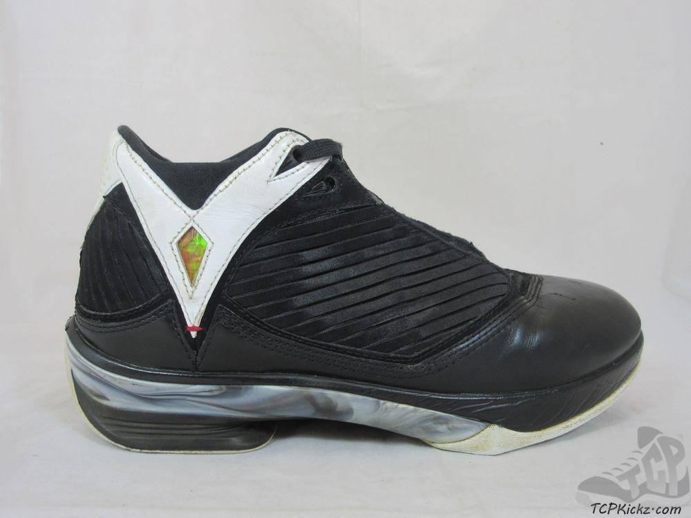 7a7875ca1083 Vtg OG 2009 Nike Air Jordan 2k9 XXIV XX4 24 s sz 8.5 XI Black White  Metallic  Jordan  AthleticSneakers  tcpkickz