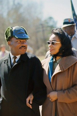 Martin Luther King and Coretta Scott King in 1965.