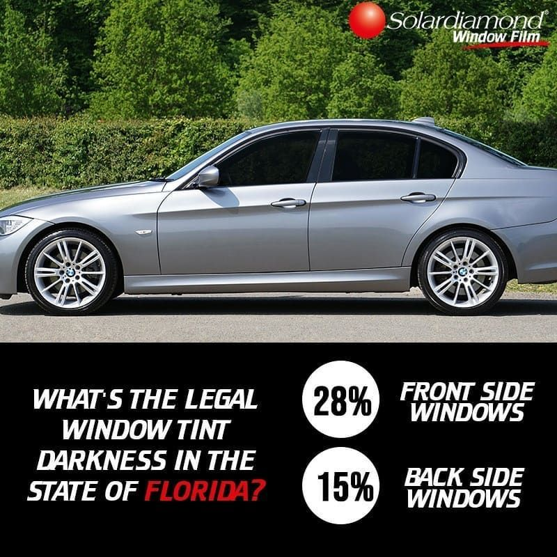 State Of Florida Car Window Tint Law