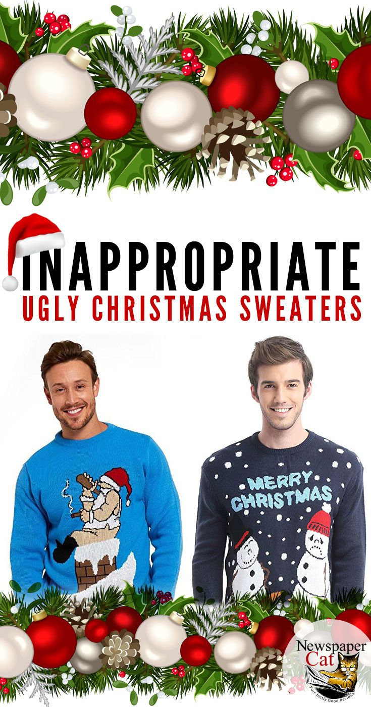 The Best Naughty And Inappropriate Ugly Christmas Sweaters For Dirty ...