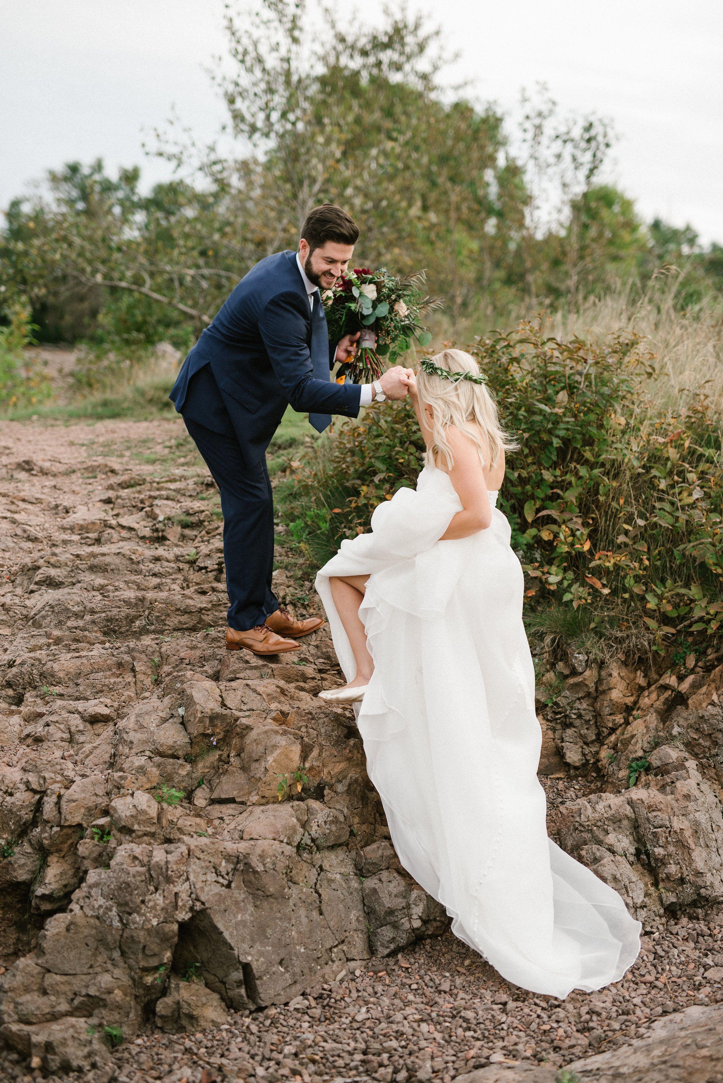 Minnesota Elopement Packages Lace Brass Events Minnesota Wedding Elopement Photographer