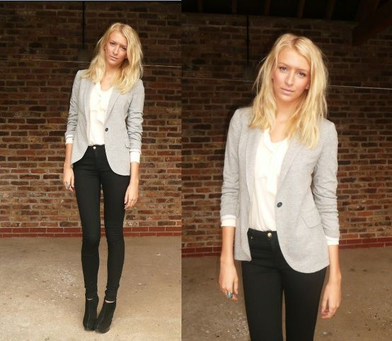 Best 25+ Edgy work outfits ideas on Pinterest | Ladies office wear Casual work attire and Smart ...