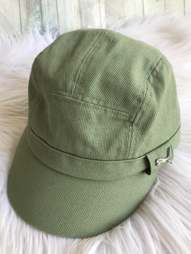 Puma Women s Cadet Hat Green Corduroy Small Medium Logo  PUMA   CadetMilitary  militaryhat cda8e1d2b24
