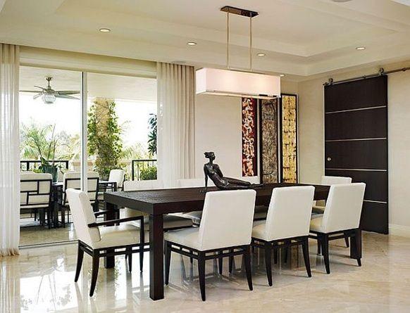 Como decorar un comedor moderno1 comedores molucas pinterest comedores comedores modernos - Como decorar una mesa de comedor ...