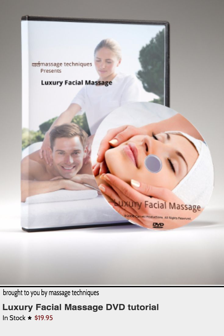 Luxury facial massage accept