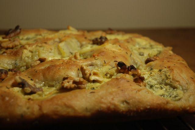 Breaking Bread: Potato, Blue Cheese & Walnut Focaccia   Vintage Kitchen Notes