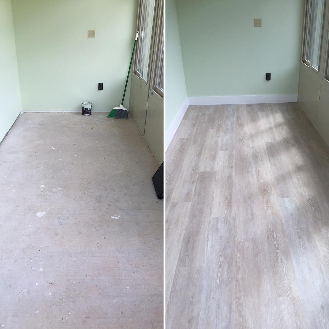 CoreTec Plus: Ivory Coast Oak Flooring With Wide White