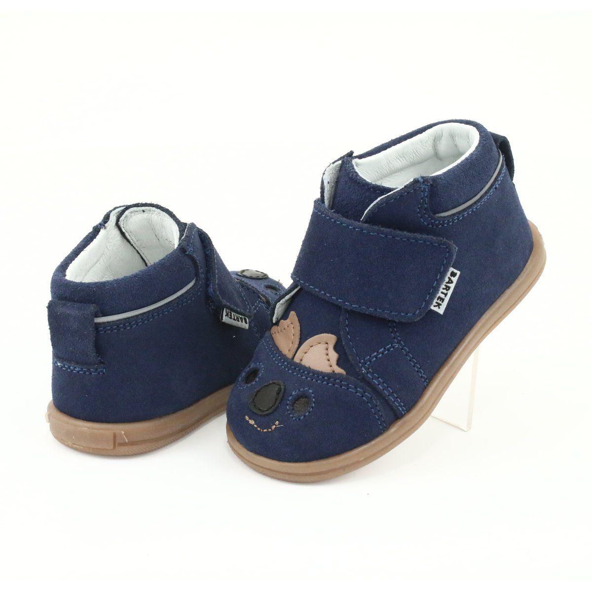 Trzewiki Na Rzepy Panda Bartek 71150 Granatowe Baby Shoes Shoes Fashion