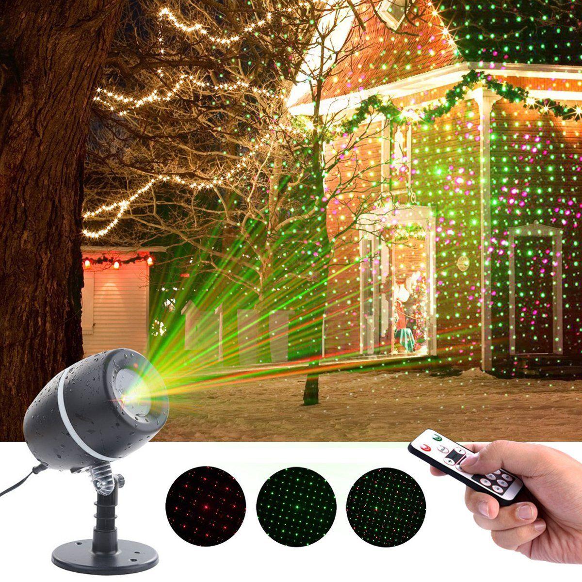 Christmas Laser Lights, YMing Indoor Outdoor Fairy Projector lights ...