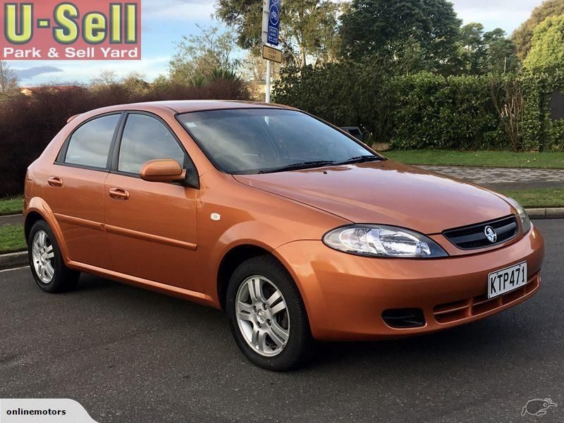 2006 Holden Viva for sale   $4,990   https://www.u-sell.co.nz/main ...