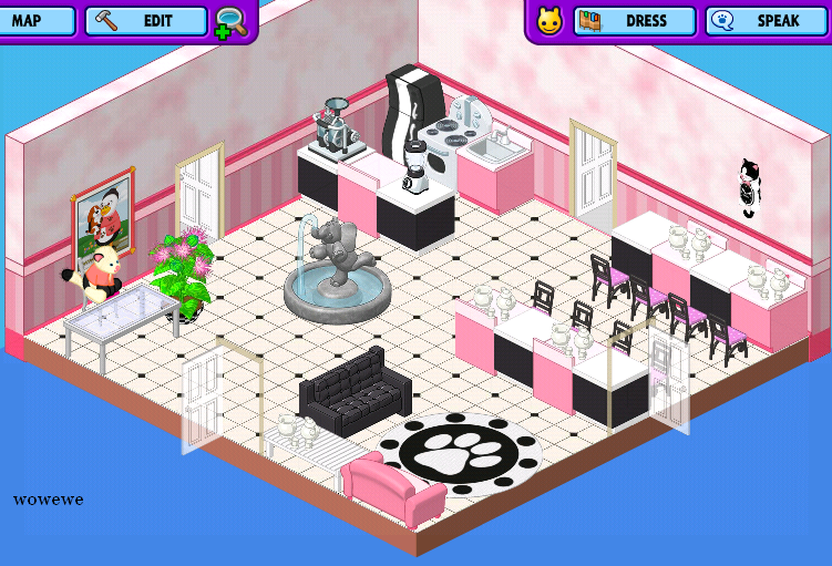 Pink And Black Kitchen Now This Is My Webkinz Dream Home