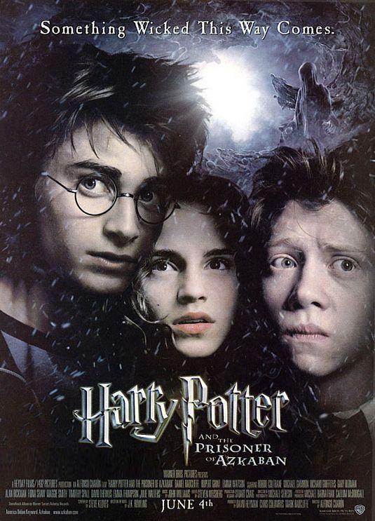 Harry Potter And The Prisoner Of Azkaban Movie Poster 3 Harry Potter Film Harry Potter Poster Der Gefangene Von Askaban