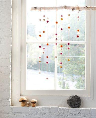 Hübscher Fensterdekorationskinderraum Dekor, Fenster