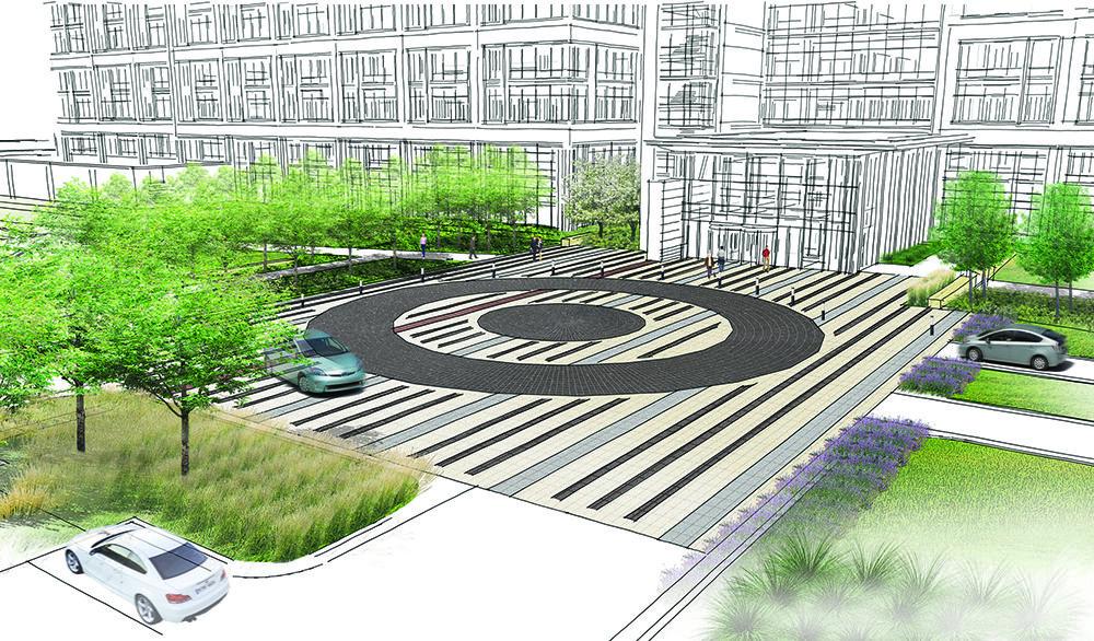 Target Northern Campus Landscape Architect Contemporary Landscape Modern Landscape Design