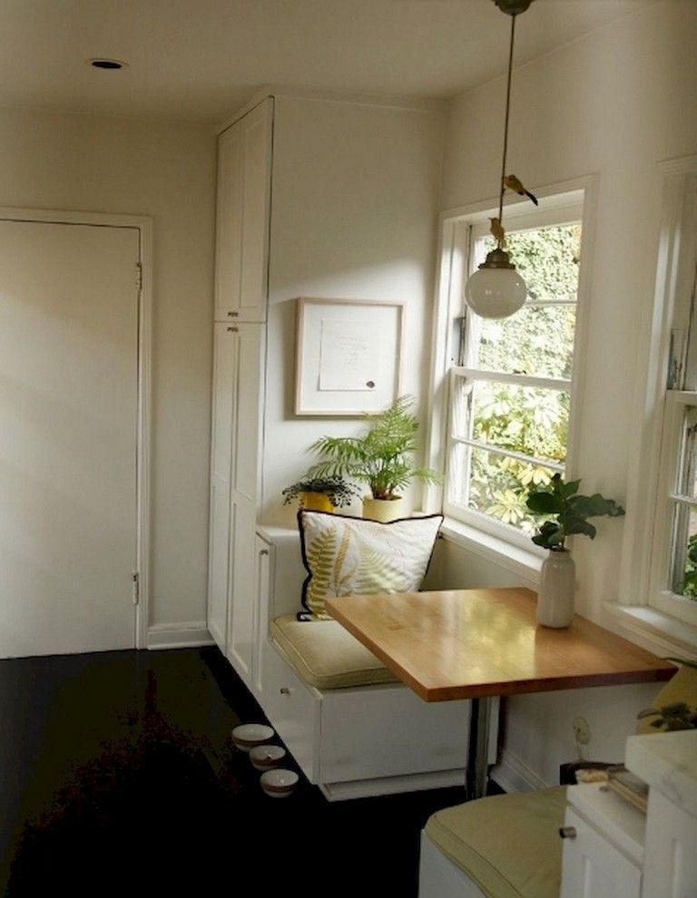 37 Smart Small Space Breakfast Nook Apartment Ideas On A Budget