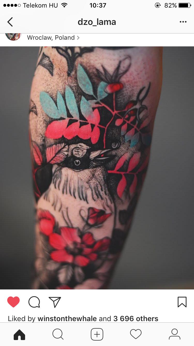 Pin By Akasha Nephthys On Tattoos Animal Tattoos Skin Color Tattoos Body Art Tattoos