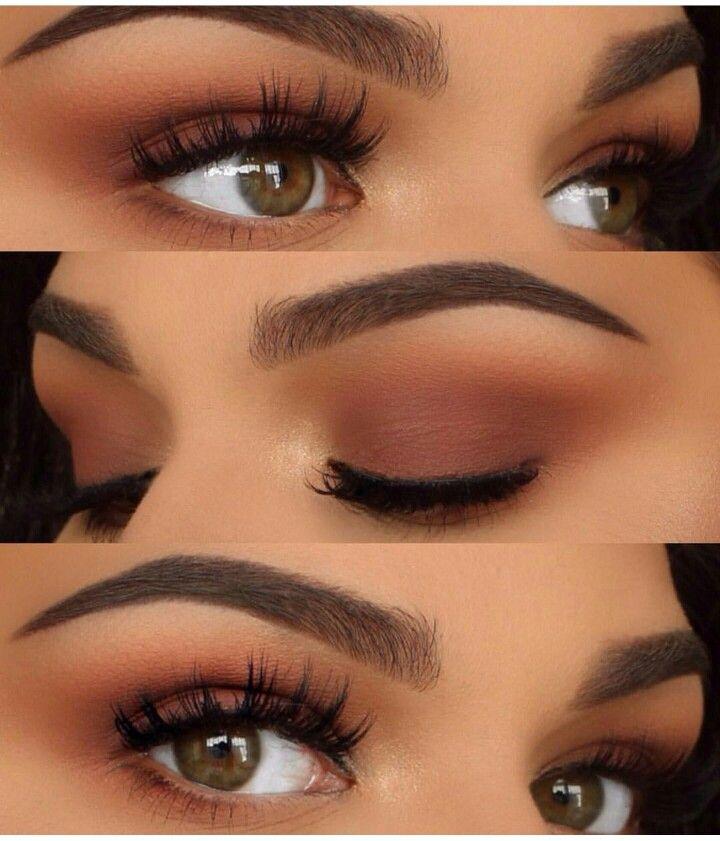 Warm Smokey Eye Smokey Eye For Brown Eyes Orange Eye Makeup Brown Smoky Eye