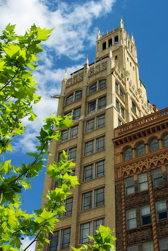 Jackson Building In Downtown Asheville NC