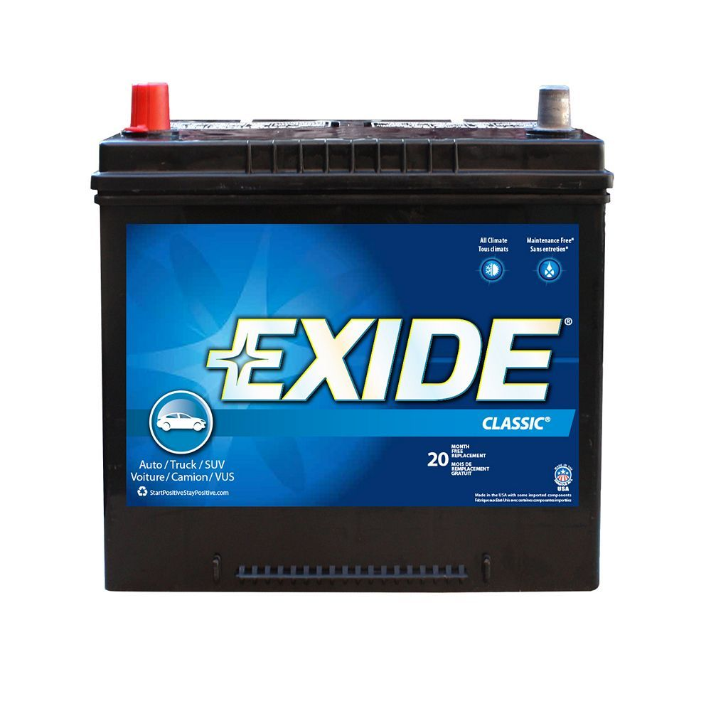 Exide Classic Automotive Battery Group 34 The Canada 2010 Prius Deep Cycle Marine Interstate Aftermarket Car Parts Used Car Parts Tractor Battery