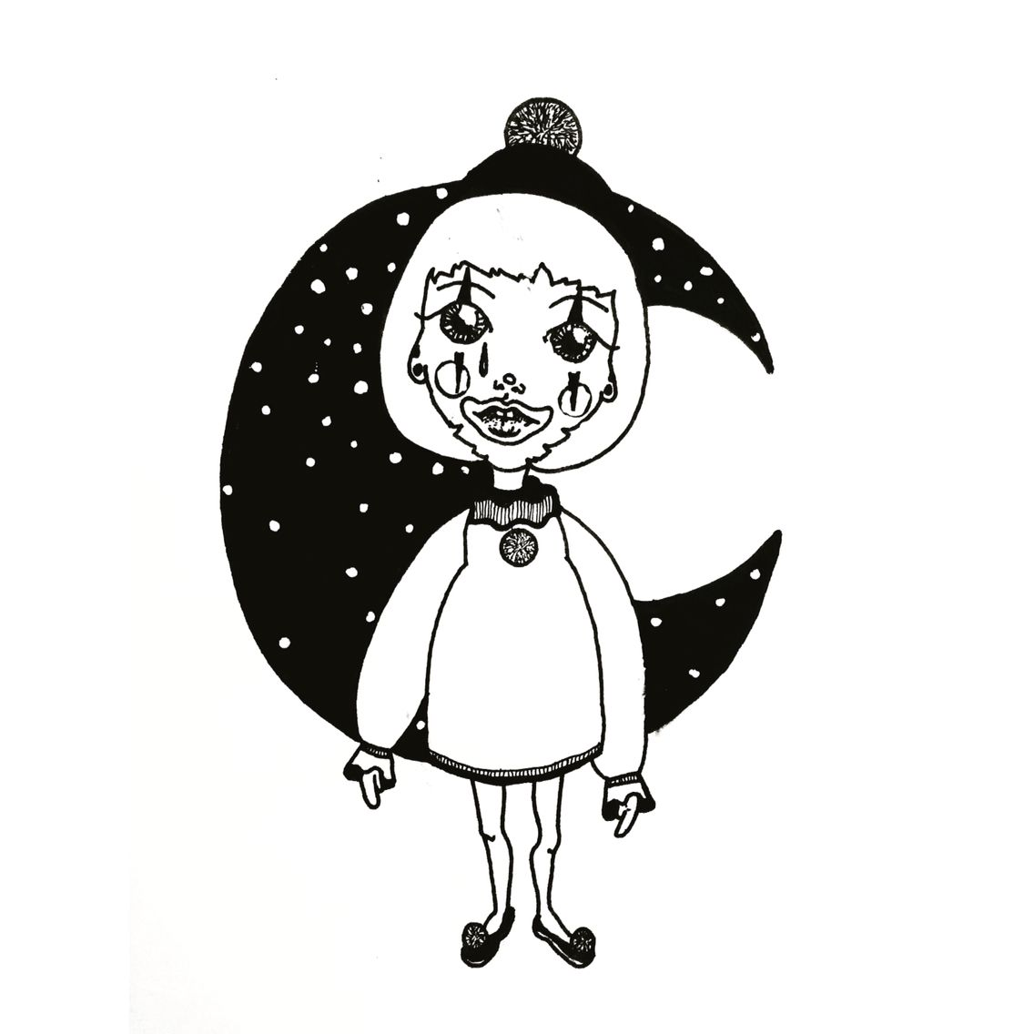 Illustration - Fanny Mazenoux - Mamie Loup http://mazenouxfanny.tumblr.com/ https://www.facebook.com/FannyMazenoux.Illustration