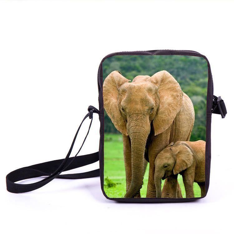 Mini Animal Parrot Owl Print Messenger Bag Kids Crossbody Bag Children School Bags Boys Girls Bags For Snacks Best Gift Mochila