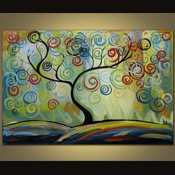 plus de 25 id es tendance dans la cat gorie peintures sur toile abstraite sur pinterest toile. Black Bedroom Furniture Sets. Home Design Ideas