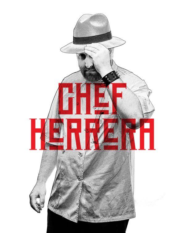 """El Chef Herrera  Restaurante Manicomio  Autodenominado Pirata / Vikingo Adrián """"El Chef"""" Herrera, ha dedicado su vida al estudio de la medicina, la anatomía, los fósiles y la música. Actualmente es columnista del periódico Milenio y Chef de profesión.En su santuario gastronómico, la Cocina Mexicana tradicional, es disfrazada de modernidad y una pizca de estilo Gótico / Metalero.En sus recetas recurre a lo antiguo, armoniza como György Ligeti y colorea sus platillos con tonos oscuros"""