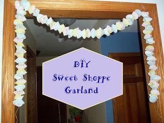 9am Rope Drop: Sweet Shoppe Garland