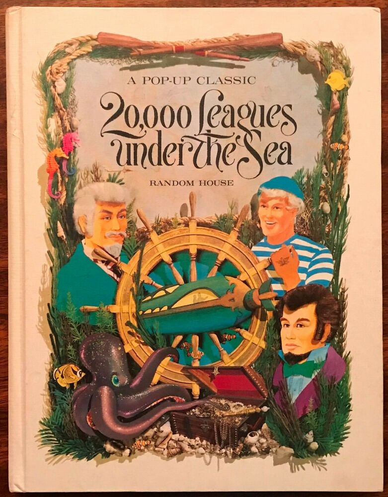 20 000 Leagues Under The Sea A Pop Up Classic Jules Verne Random House Vintage Leagues Under The Sea Under The Sea Classic Literature