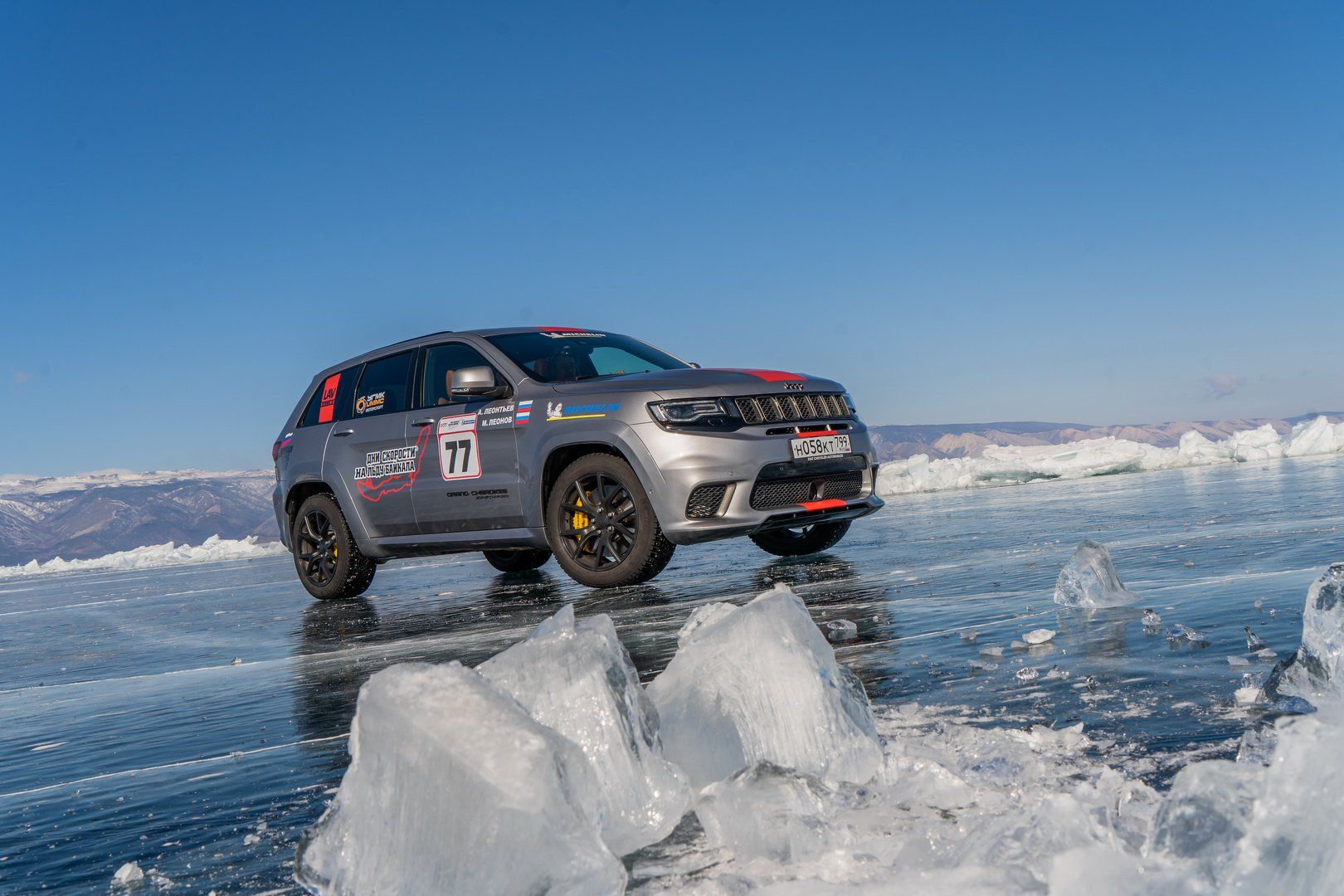Jeep Grand Cherokee Trackhawk Breaks Top Speed Record For Suvs On