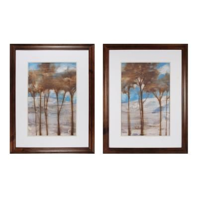 """Sterling Industries 10228-S2 Near Dusk I and II - 35"""" Decorative Framed Art"""
