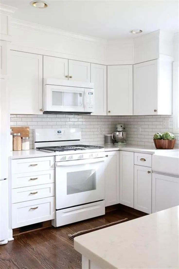Design Trend 2019 White Kitchen Appliances 00021 Icaccajamarca Org Armoire De Cuisine Classic Kitchen Cuisine Toute Blanche