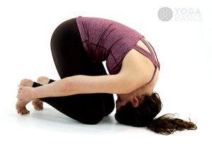 rabbit yoga pose • sasangasana  seated yoga poses basic