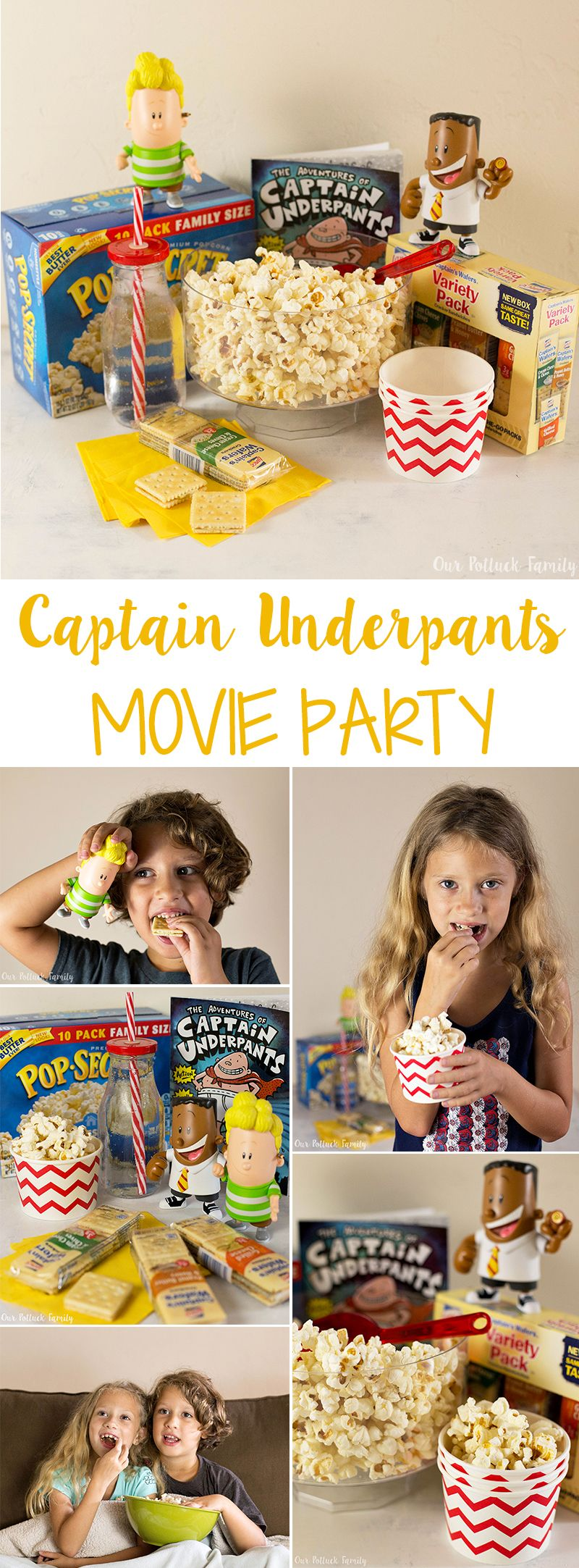 Captain Underpants Movie Party #epicmovie
