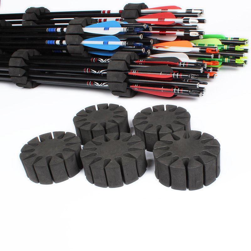 3pcs Arrow Holder EVA Foam Rack 12 Arrows Separator Quiver Protection Shelfha