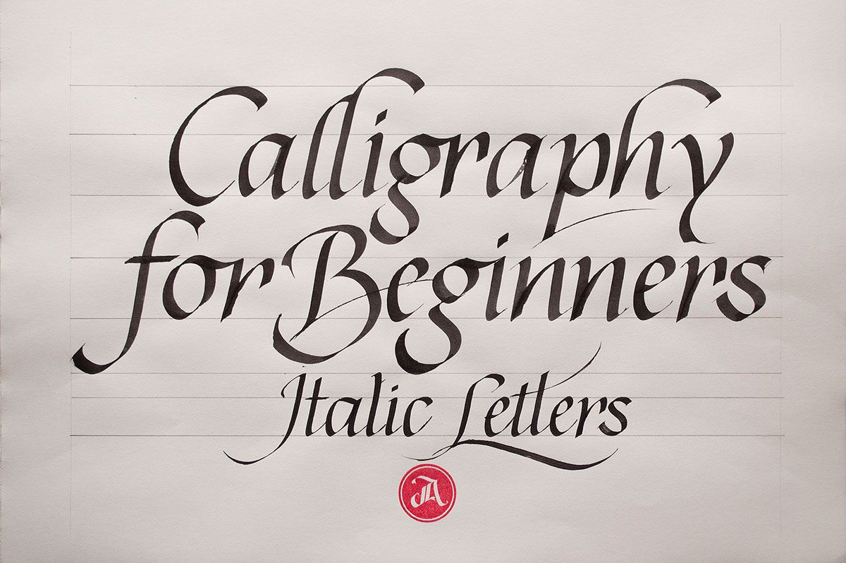 Calligraphy For Beginners Is A Three Class Sequence For