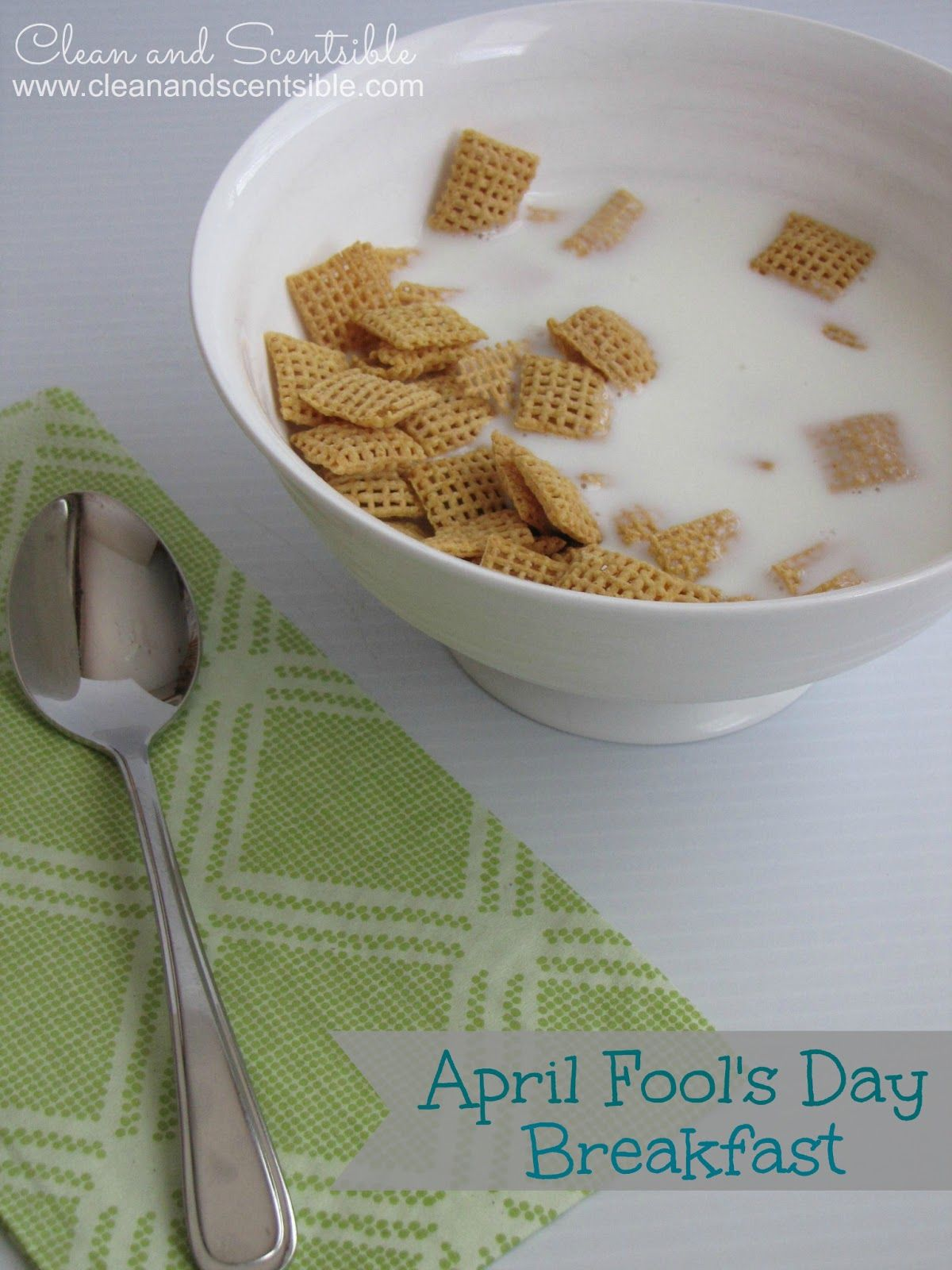 Easy April Fools Day Pranks, frozen cereal! Yep! Doing that tomorrow.
