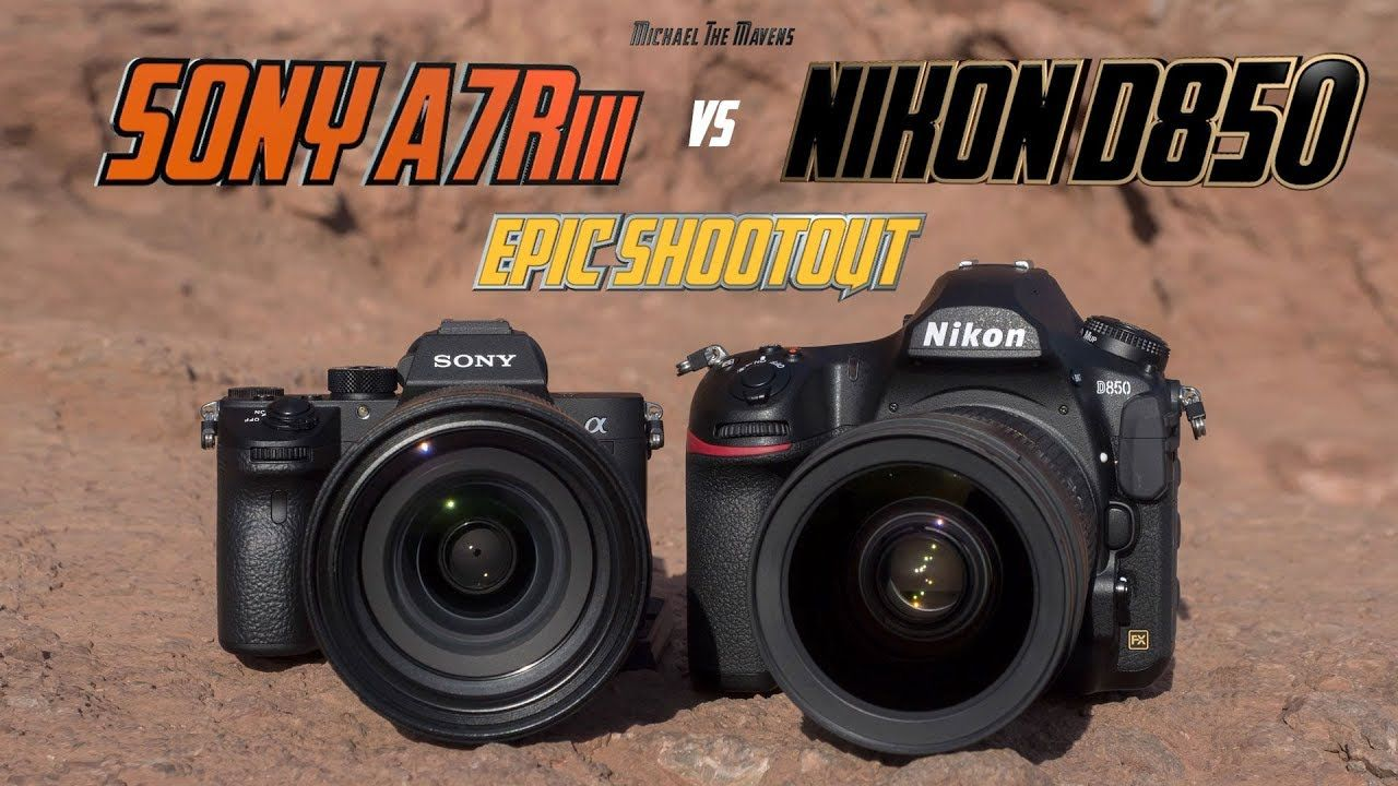 Sony A7Riii vs Nikon D850 Epic Shootout | Camera Comparison