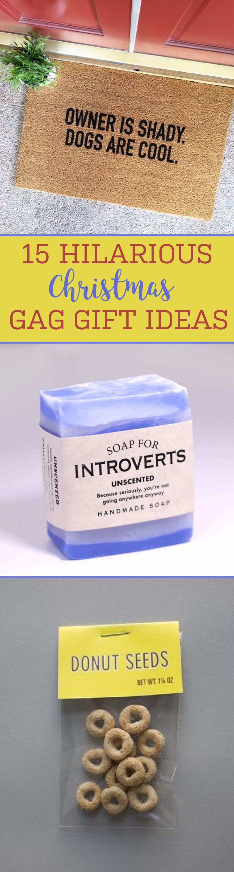15 Hilarious Christmas Gag Gift Ideas   crafts   Gag gifts christmas ...