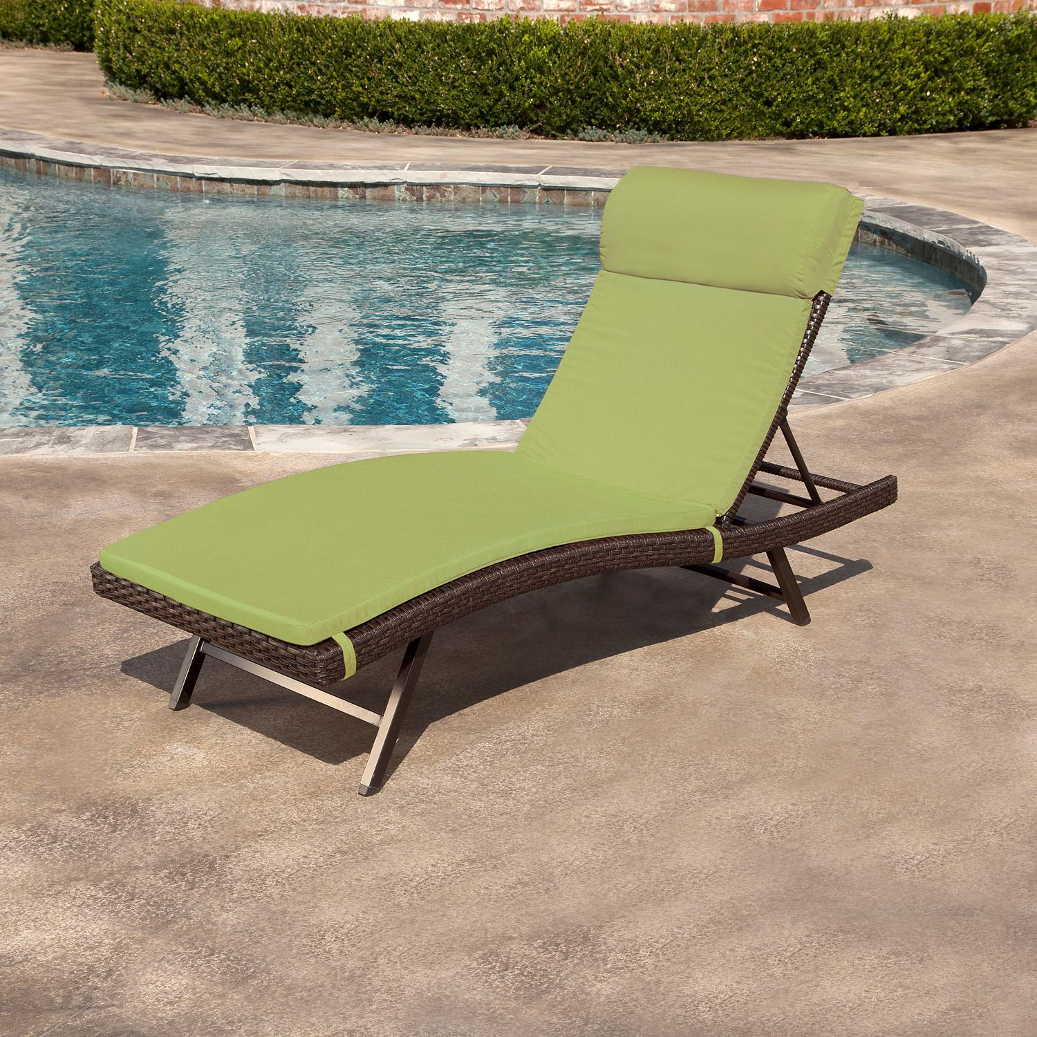 Toronto Outdoor Chaise Cushion Canvas Turf 2 Pk Sam S Club Chaise Cushions Outdoor Chaise Cushions Cushions