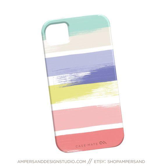 Custodia iPhone 4 o 5 - strisce pittorico