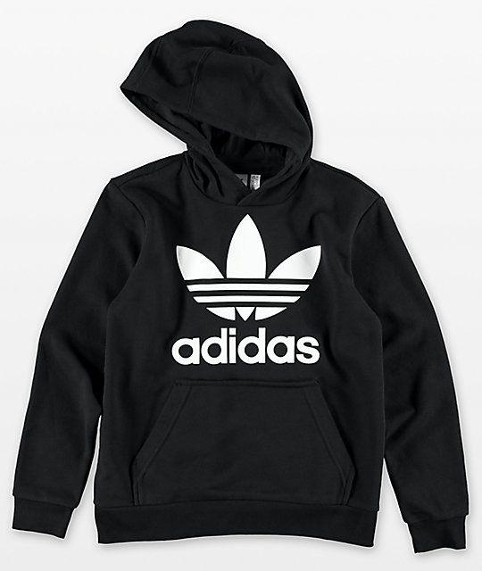 adidas Originals Boys' Trefoil Hoodie | Boys hoodies