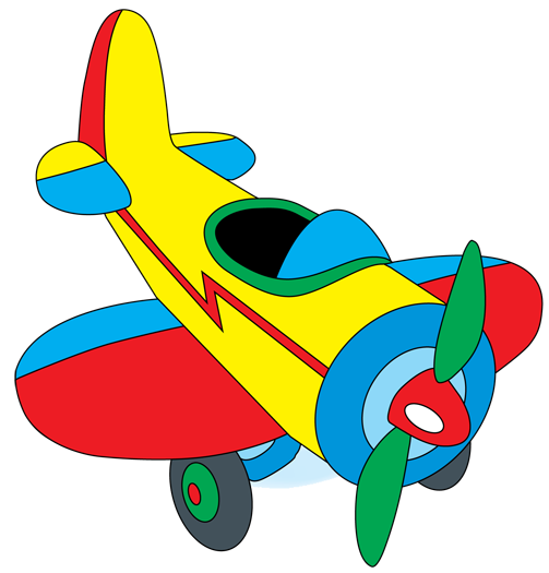 Photoshop Cartoon Airplane Art Transportation Art Wall Kids